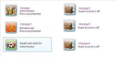 Multiple User account Maker Virus