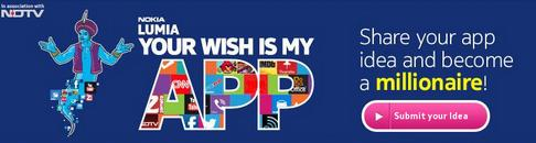 Nokia's 'Your wish is my App' Contest is launched in India