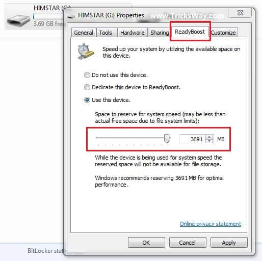 Use Usb Pendrive as RAM without any software