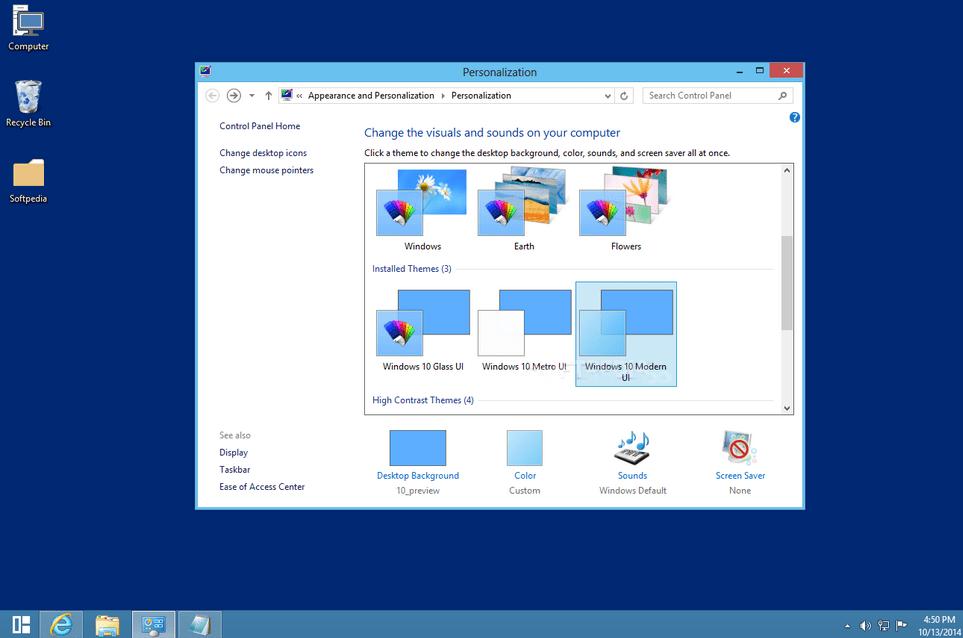windows 10 transformation pac
