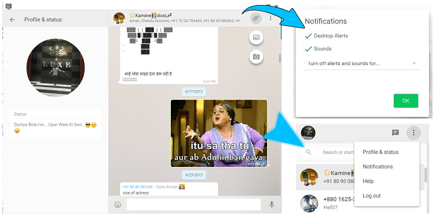 WhatsappTime Whatsapp Web Desktop Version New Features