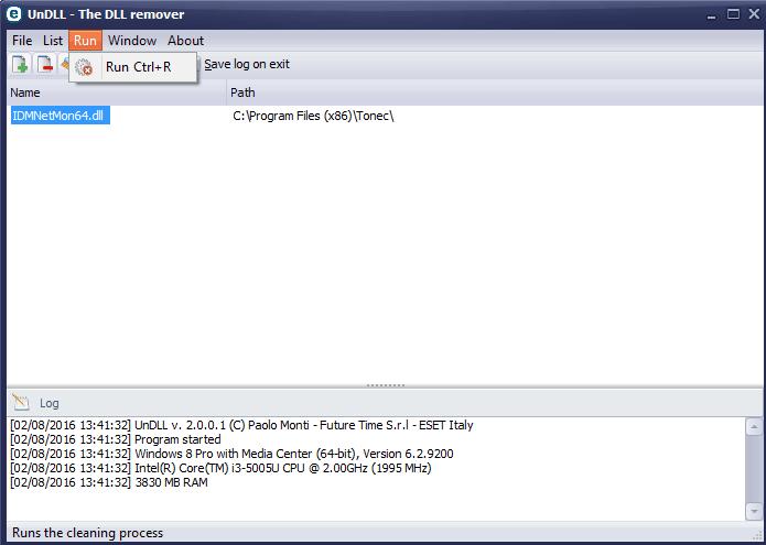 undll remove dll files free