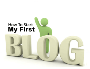 How to start first blog