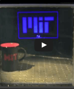 MIT Developed Transparent Display