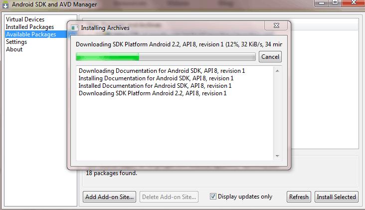 android installation