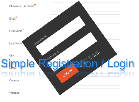 user registration easy setup for wordpress