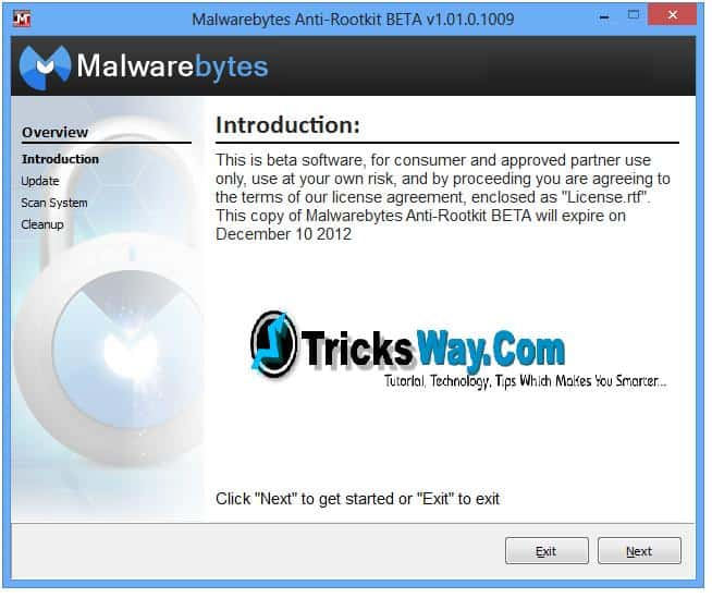 Malwarebytes Anti Rootkit Protect And Speed Up Your Pc Free