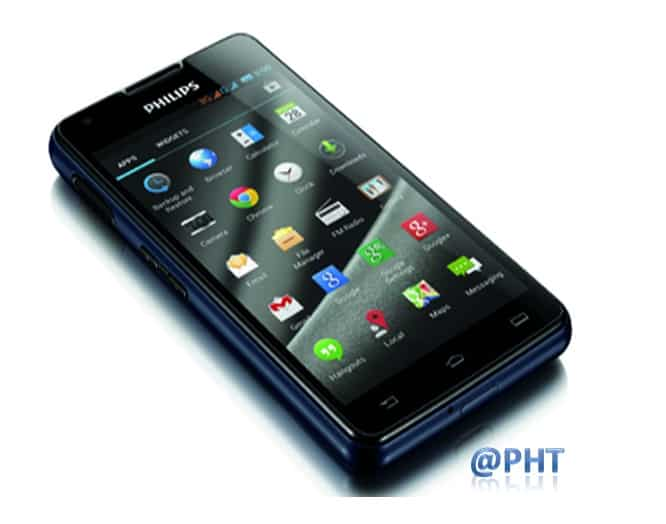 New series of Philips smartphones : Philips W6610