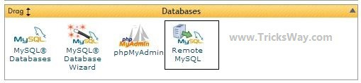 Remote MySql Database Connection Setup