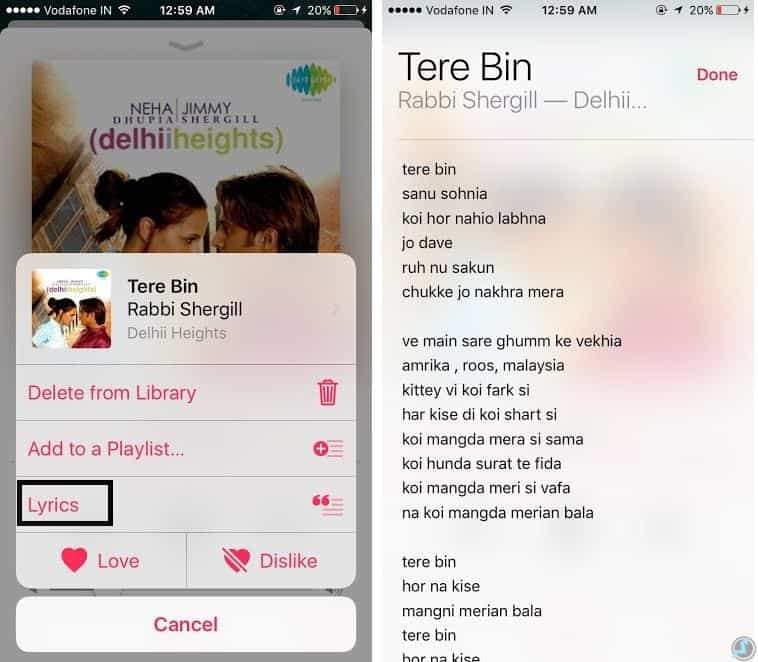 ios-10-song-lyrics-not-showing