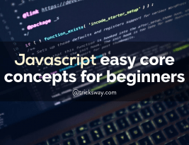 Easy and tricky JavaScript core concepts for beginners